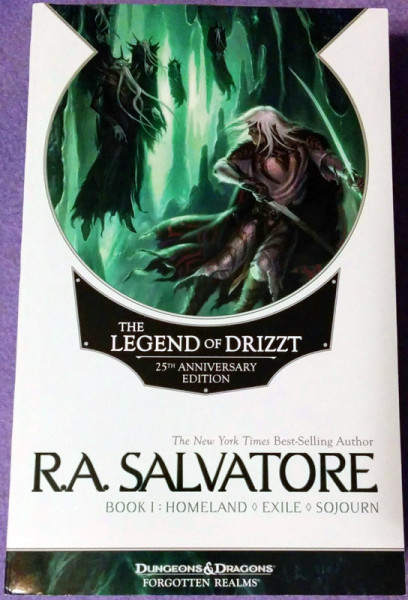 The Legend of Drizzt, 25th anniversary ed, book 1
