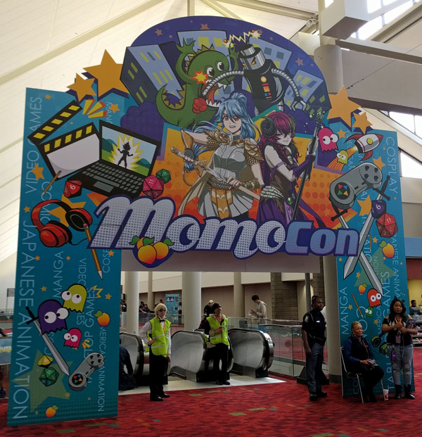 MomoCon entrance