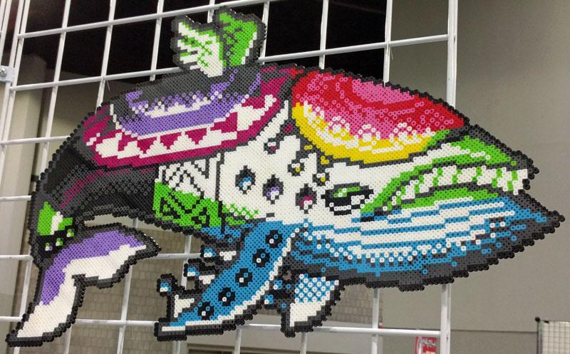 Windfish perler