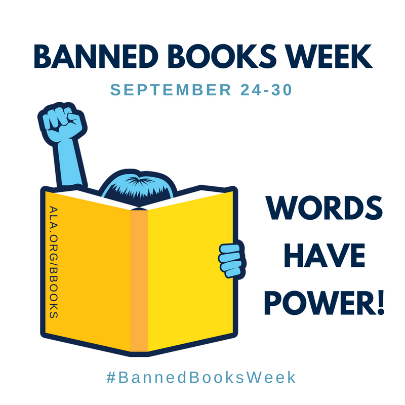 Banned Books Week 2017. Last week of September.